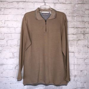 ⭐️Final Sale⭐️ Perry Ellis - Light Brown Sweater